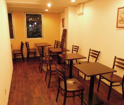 勉強カフェ店内